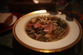 キノコの10分でできるダイエットスープ