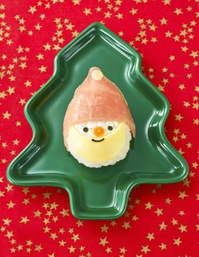 クリスマスに!サンタさんおにぎり