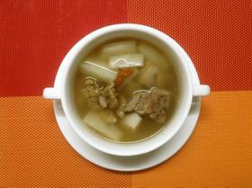 長芋スペアリブスープ(山药排骨汤)
