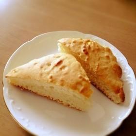 バナナとココナッツリキュールのケーキ