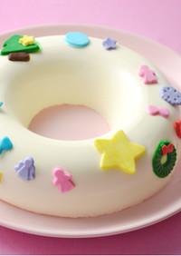 マシュマロフォンダンクリパチーズケーキ