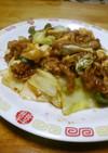 回鍋肉&炒り卵