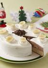 バナナチョコレートムースケーキ
