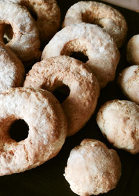 ノンフライヤーで作る焼きドーナツ