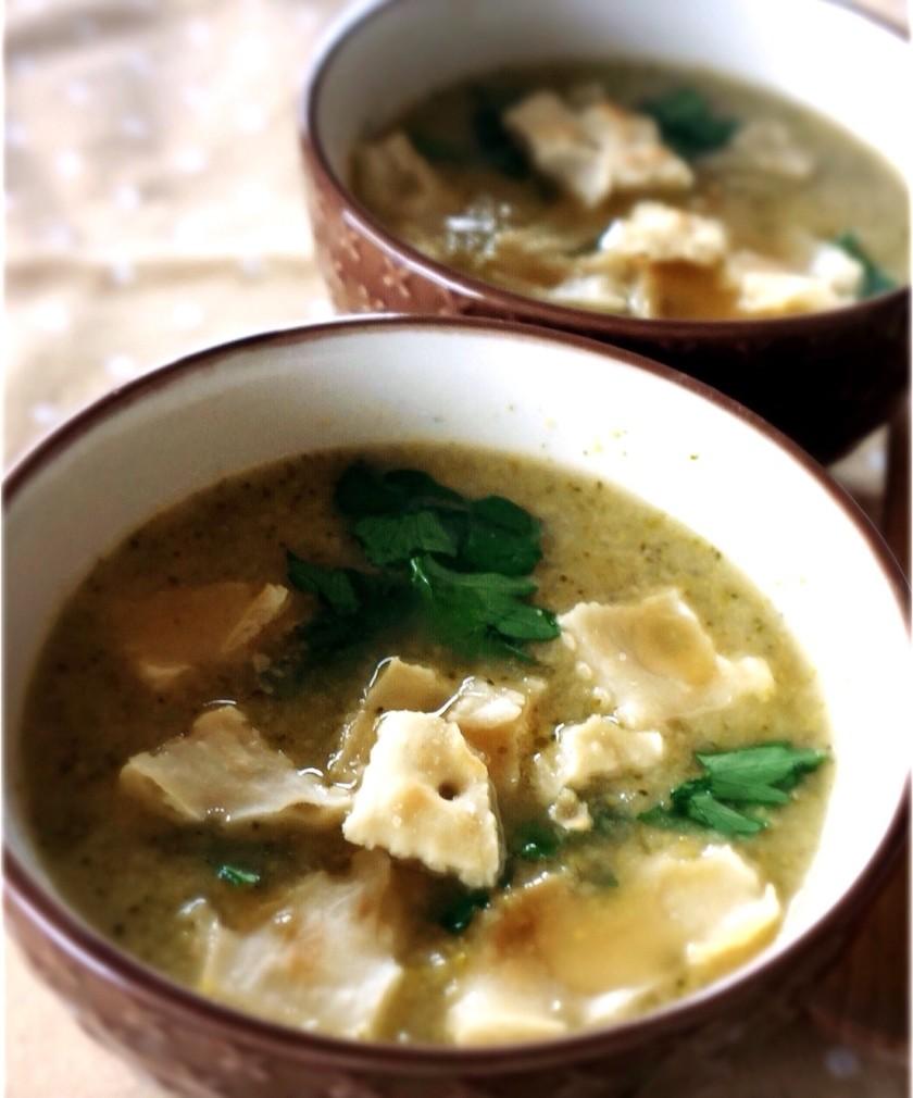 ブロッコリーとチーズのこく旨スープ