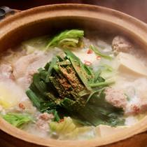 白湯鶏つくね鍋
