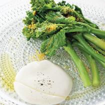 菜の花とからすみのサラダ
