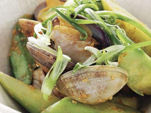 あさりときゅうりの中華風サラダ