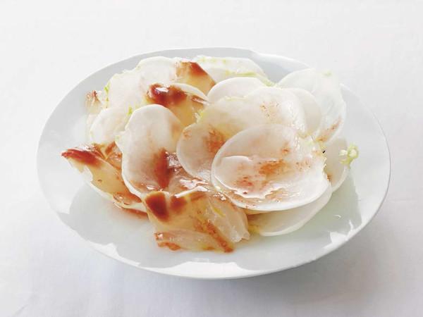 かぶと鯛のサラダ 梅風味