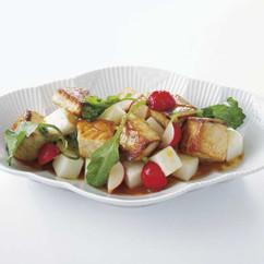 ぶり大根 サラダ仕立て 柚子風味