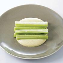 きゅうりのカレーココナッツ風味