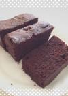 低コスト♪レンジで簡単チョコレートケーキ