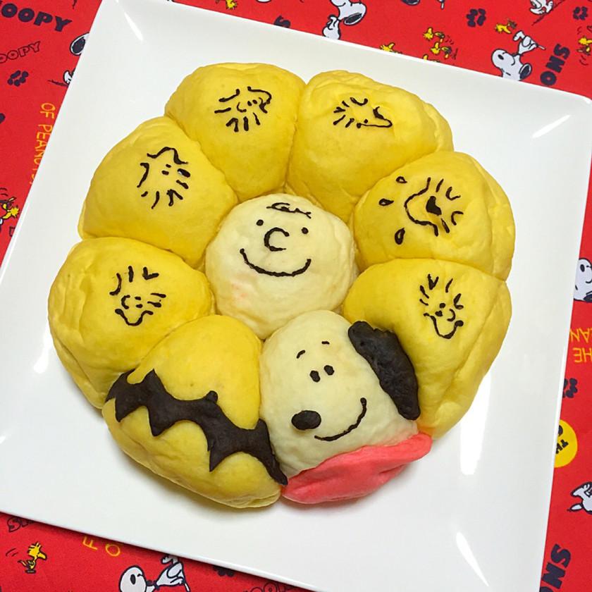スヌーピー★ちぎりパン 丸型