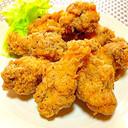 天ぷら粉でフライドチキン黒胡椒味KFC風