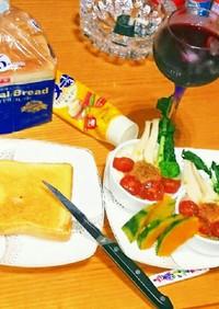 栄養素満点野菜パーティートーストココット