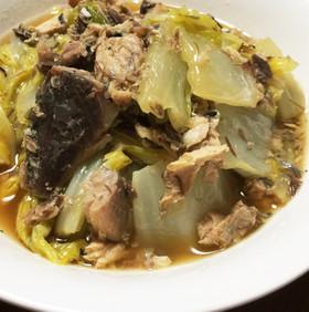 超簡単!白菜とサバ水煮缶の煮物