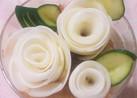 大根の薔薇*サラダやお弁当に♡*