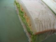 ラップで包もう♪驚愕のレタスサンドイッチの写真