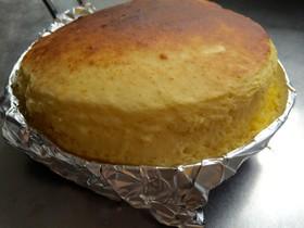 オーブントースターでホットケーキ