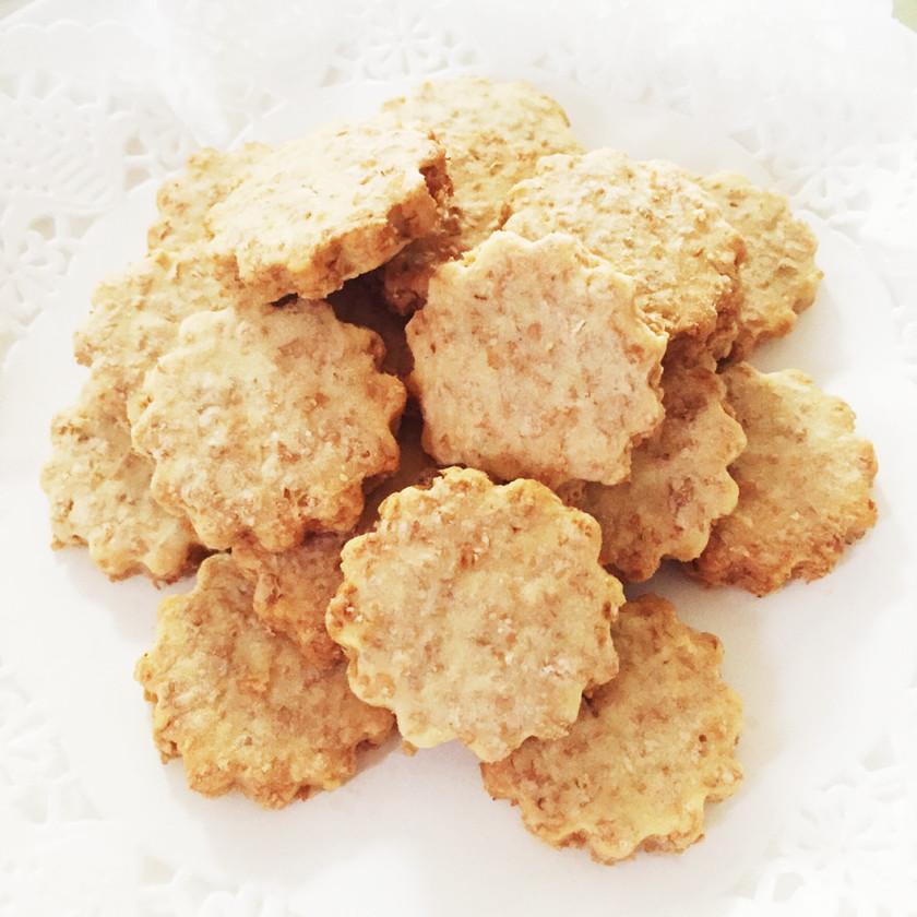さくさく♡米粉とふすまのクッキー