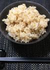 玄米の炊き方☆寝かさず炊飯器でもちもち☆