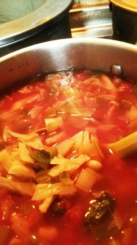 脂肪燃焼!スープでダイエット頑張ろう