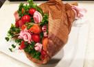 記念日に♡簡単可愛いブーケサラダ