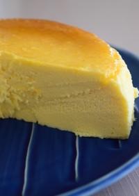 とろけるスフレチーズケーキ