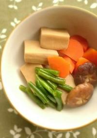 ★高野豆腐の煮物★