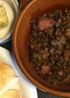 ランティーユ(レンズ豆)ソーセージ煮込み