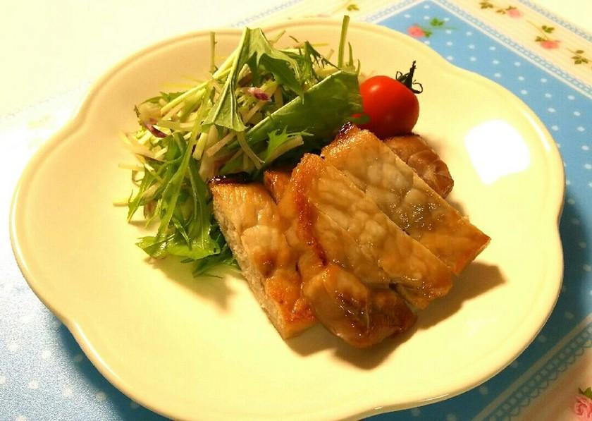 低糖質レシピ☆豚肉の味噌漬焼き