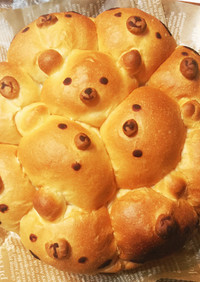 ちぎりパン☆くまさん