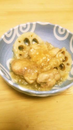 鶏肉とれんこんのみぞれ煮