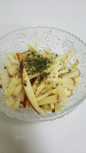 材料2つで!りんごと白菜のマヨサラダ☆