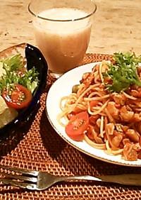 和美食 魔法のソースでトマトパスタ