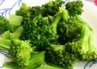 レンジで茎も☆ブロッコリーの塩麹