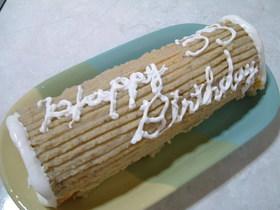ホットケーキミックスで簡単 ロールケーキ