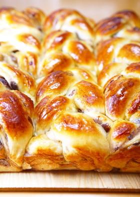 卵と牛乳♪ちぎりパンになった★あん食パン
