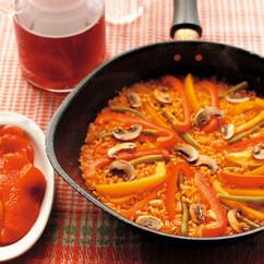 焼きパプリカ(写真左)