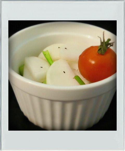 ■簡単副菜■かぶ浅漬けナムル☆お弁当朝昼