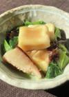 木耳と高野豆腐のうま煮