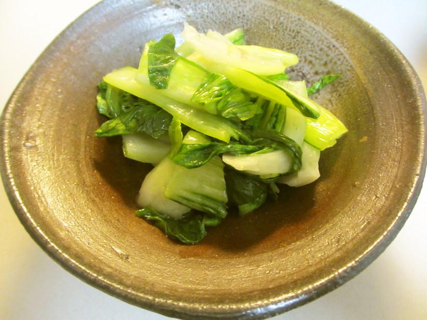 レンチンで決まる♡中華風青梗菜 簡単副菜