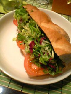 サブウェイ風サンドイッチ