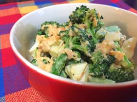 ブロッコリーと卵のツナマヨサラダ