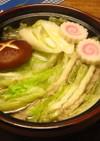 豚肉と白菜のミルフィーユ鍋by特製タレ