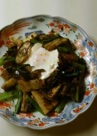 すき焼き風ごろっと野菜の炒め煮♪