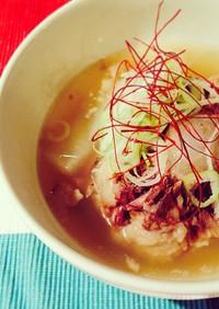 身体の芯から温めるシンプルなテールスープ