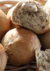 血糖値を上げない材料で雑穀くるみパン