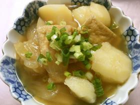 簡単♪じゃが芋と玉ねぎ 油揚げの和風煮!
