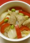 豚肉と白菜の春雨煮(白菜猪肉炖粉条)